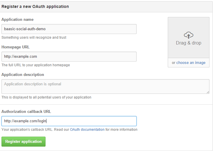 Setting up social login providers in Baasic | Baasic